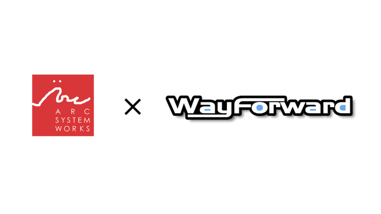 Arc System Works X WayForward Logo