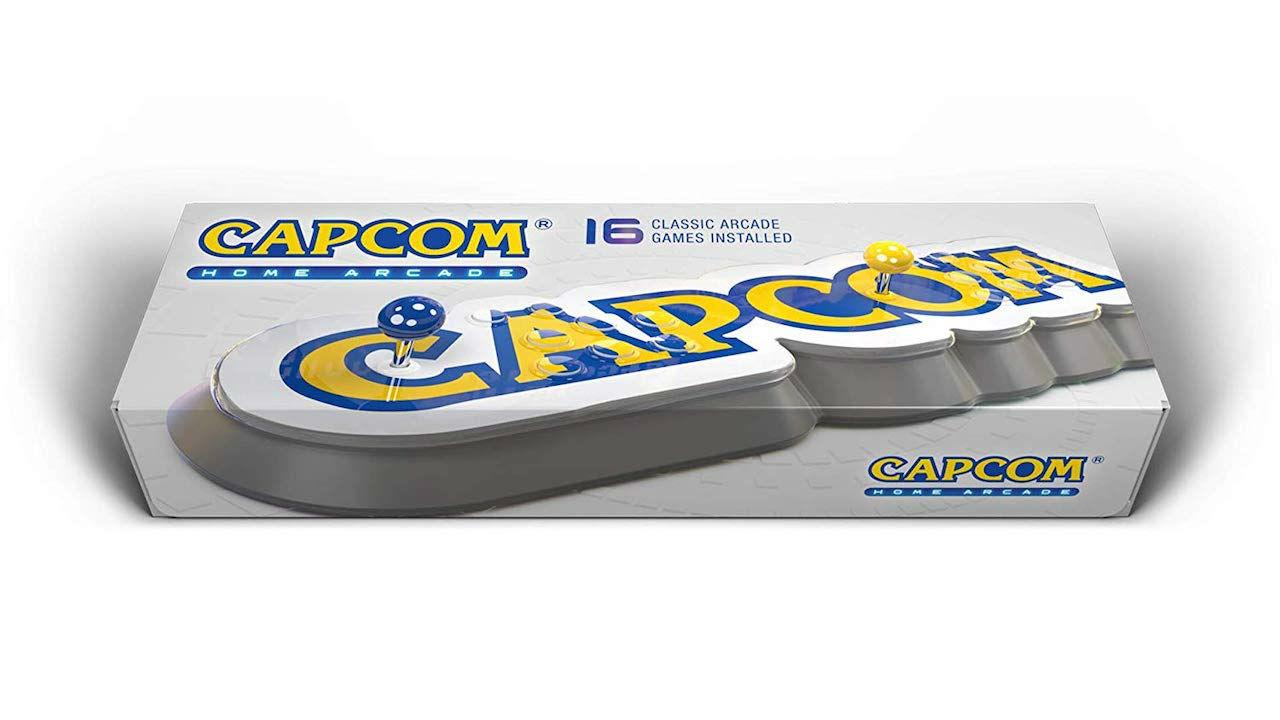 Capcom Home Arcade Box Art