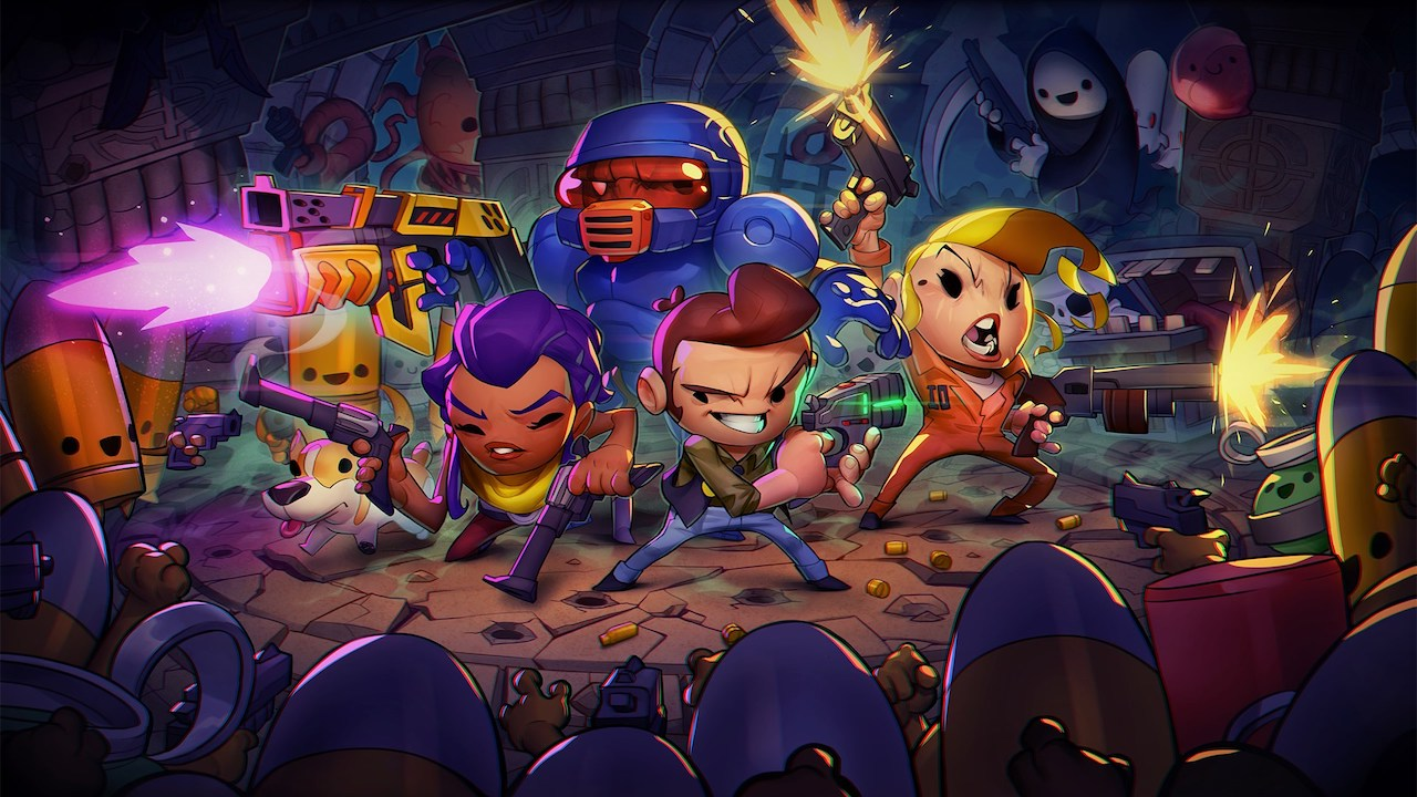 Enter The Gungeon Review Header