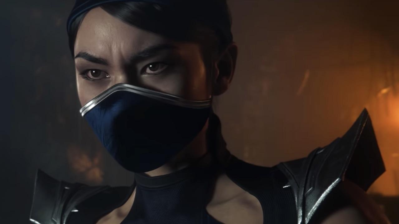Kitana Mortal Kombat 11 Screenshot