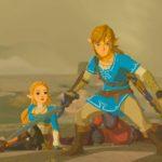 Link Protects Zelda Breath of the Wild Screenshot