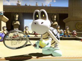 Mario Tennis Aces Dry Bones Screenshot