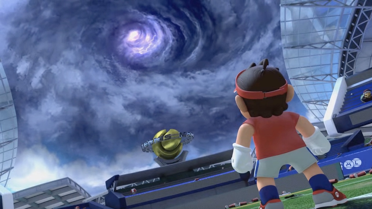 Mario Tennis Aces Movie Screenshot