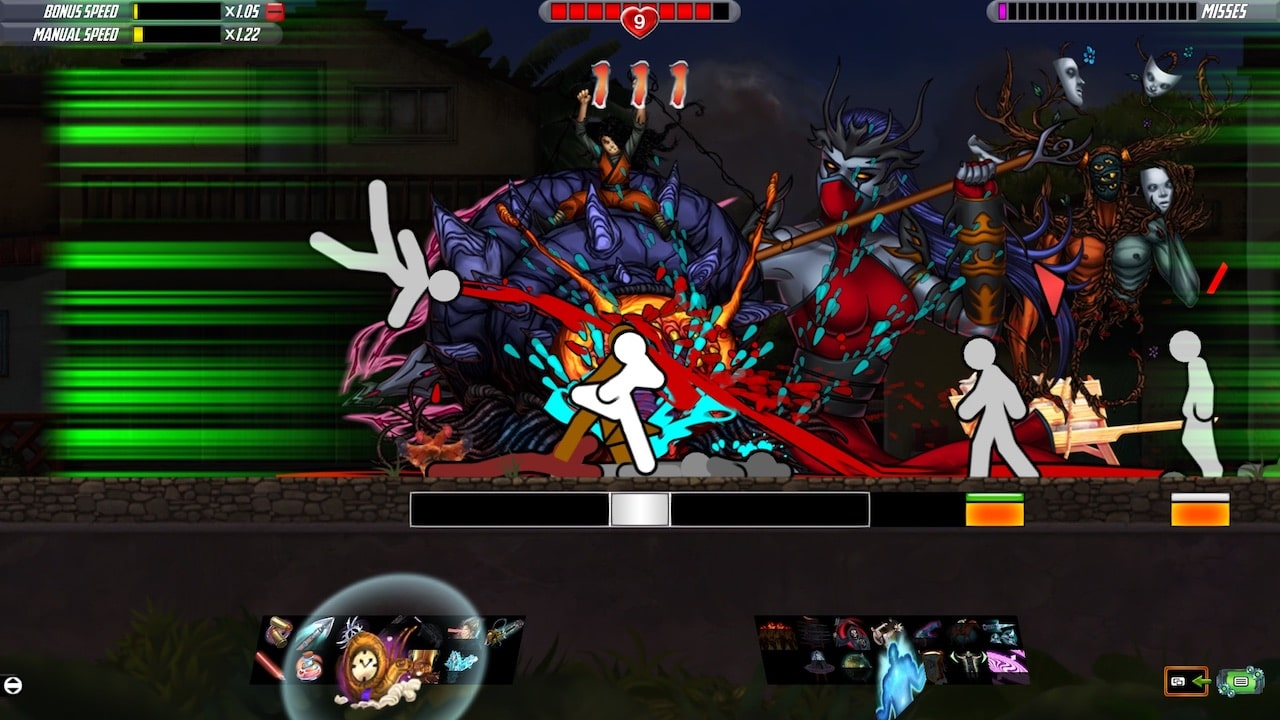 One Finger Death Punch 2 Screenshot