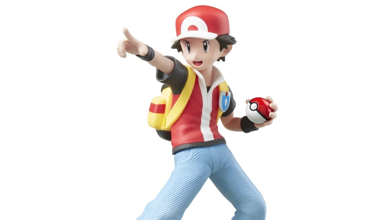 Pokémon Trainer amiibo Photo Main