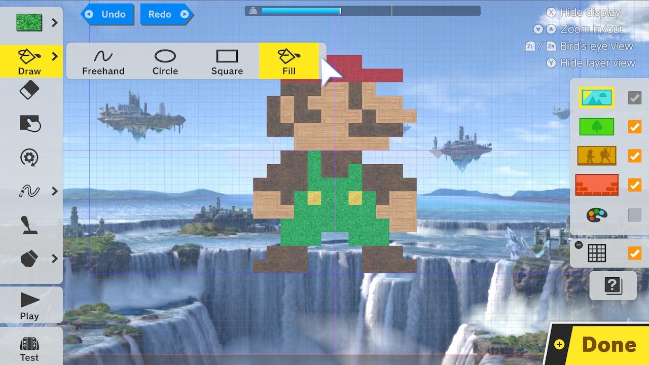 Super Smash Bros. Ultimate Stage Builder Screenshot