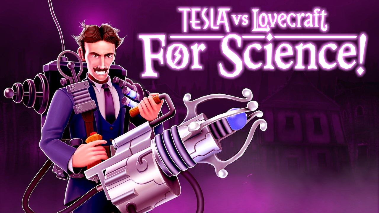Tesla Vs Lovecraft For Science! Key Art