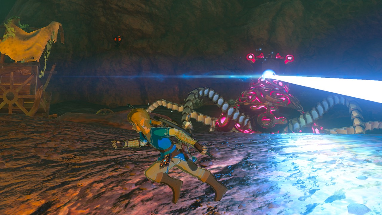 Zelda: Breath of the Wild Guardian Screenshot
