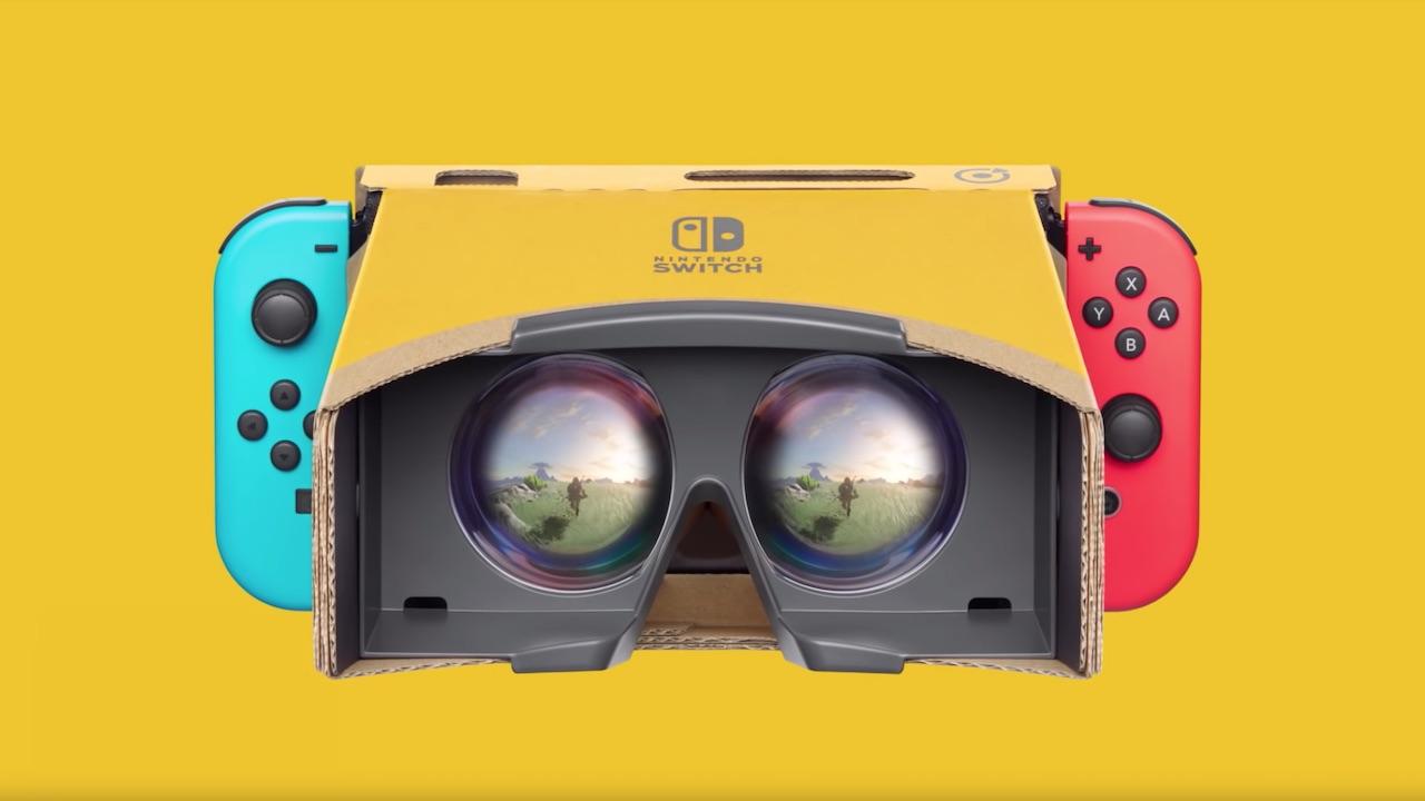 Zelda Nintendo Labo VR Kit Photo