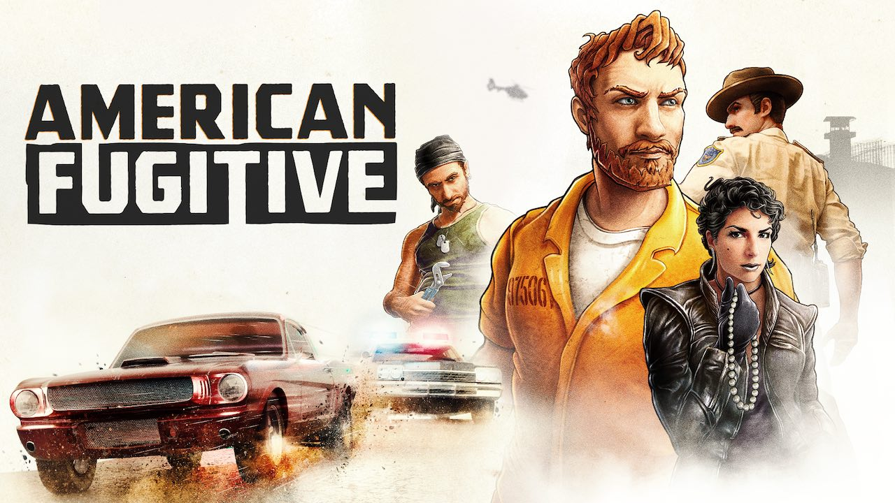 American Fugitive Key Art