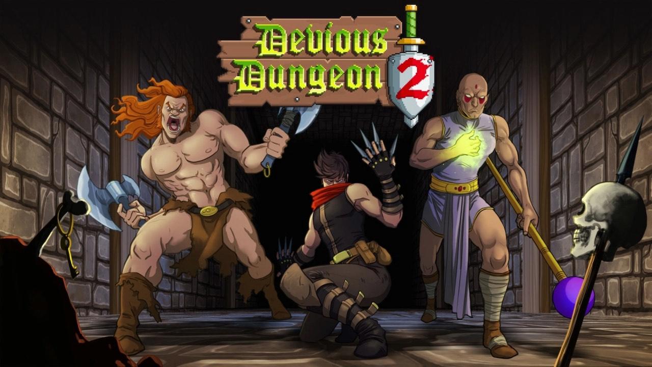 Devious Dungeon 2 Artwork