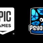 Epic Games Psyonix Logos