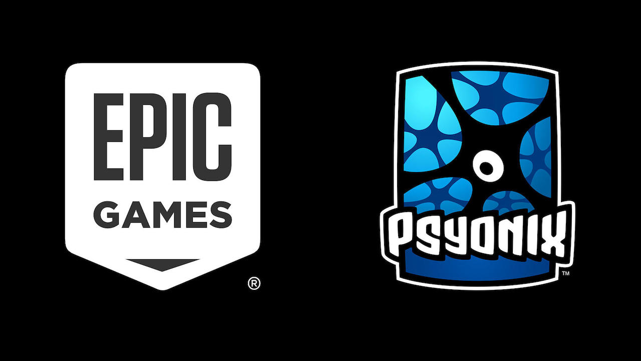 Epic Games Psyonix Logos