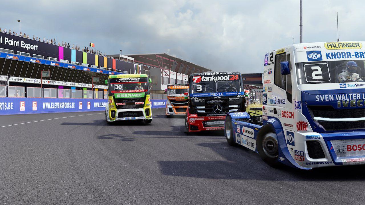 FIA European Truck Racing Championship Screenshot