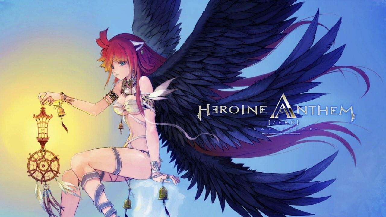 Heroine Anthem Zero: Episode 1 Key Art