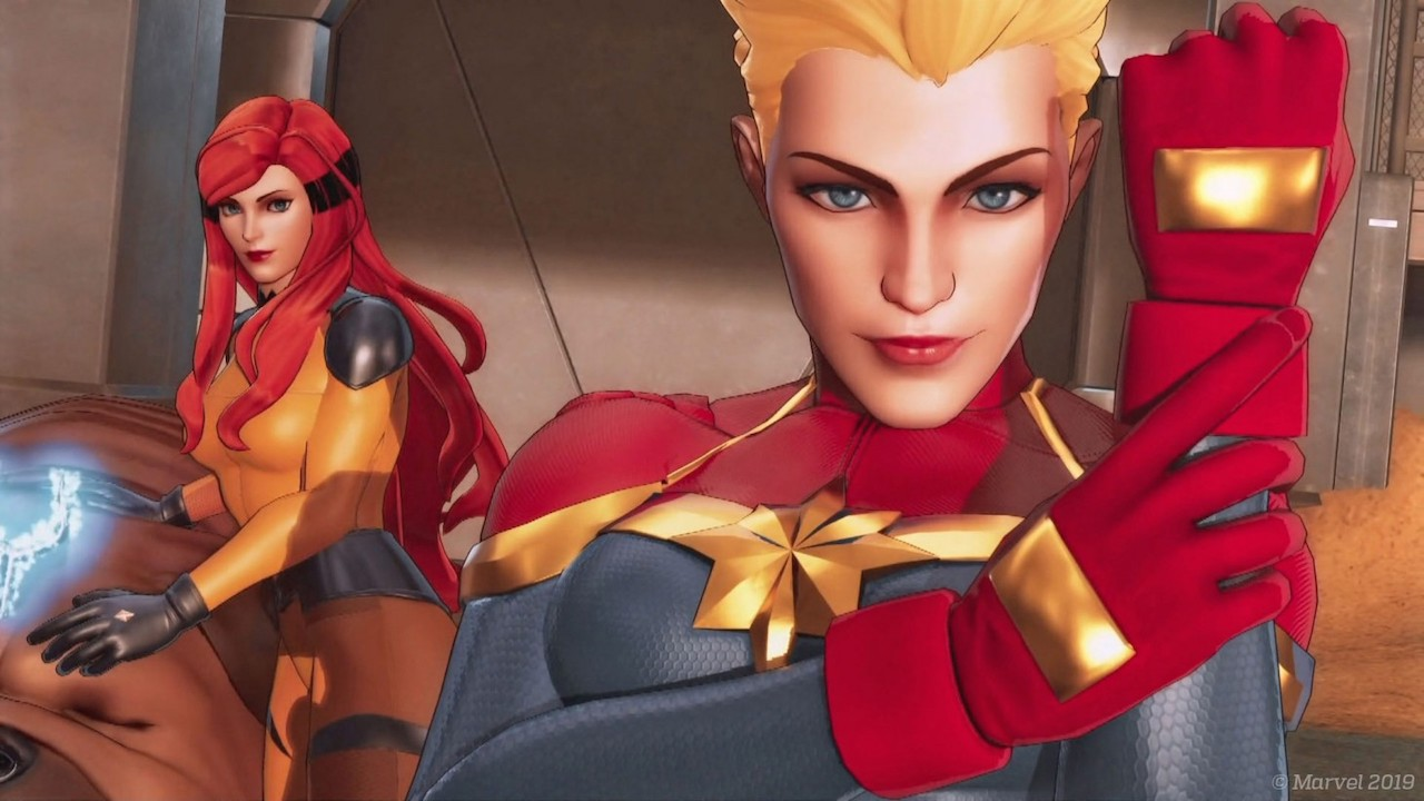Marvel Ultimate Alliance 3: The Black Order Captain Marvel Screenshot