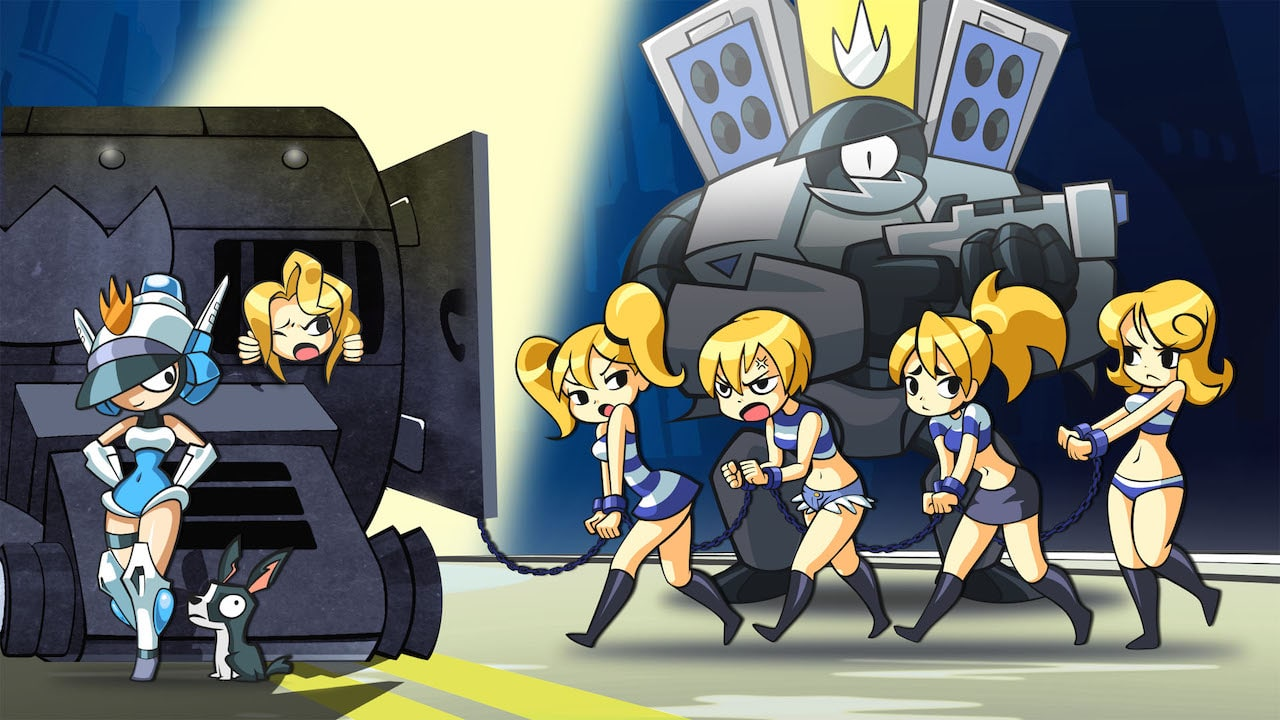 Mighty Switch Force! Hyper Drive Edition Artwork