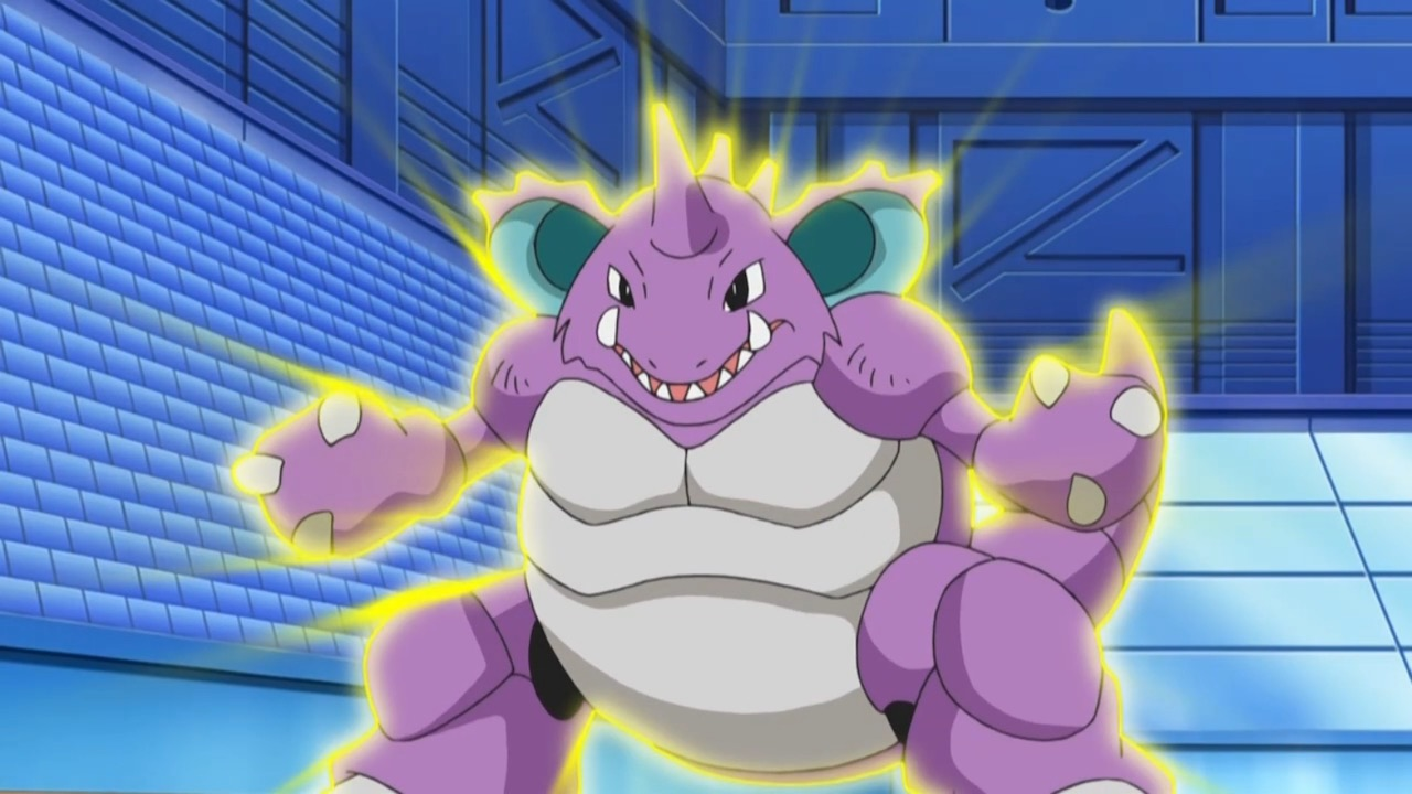 Nidoking Earth Power Anime Screenshot