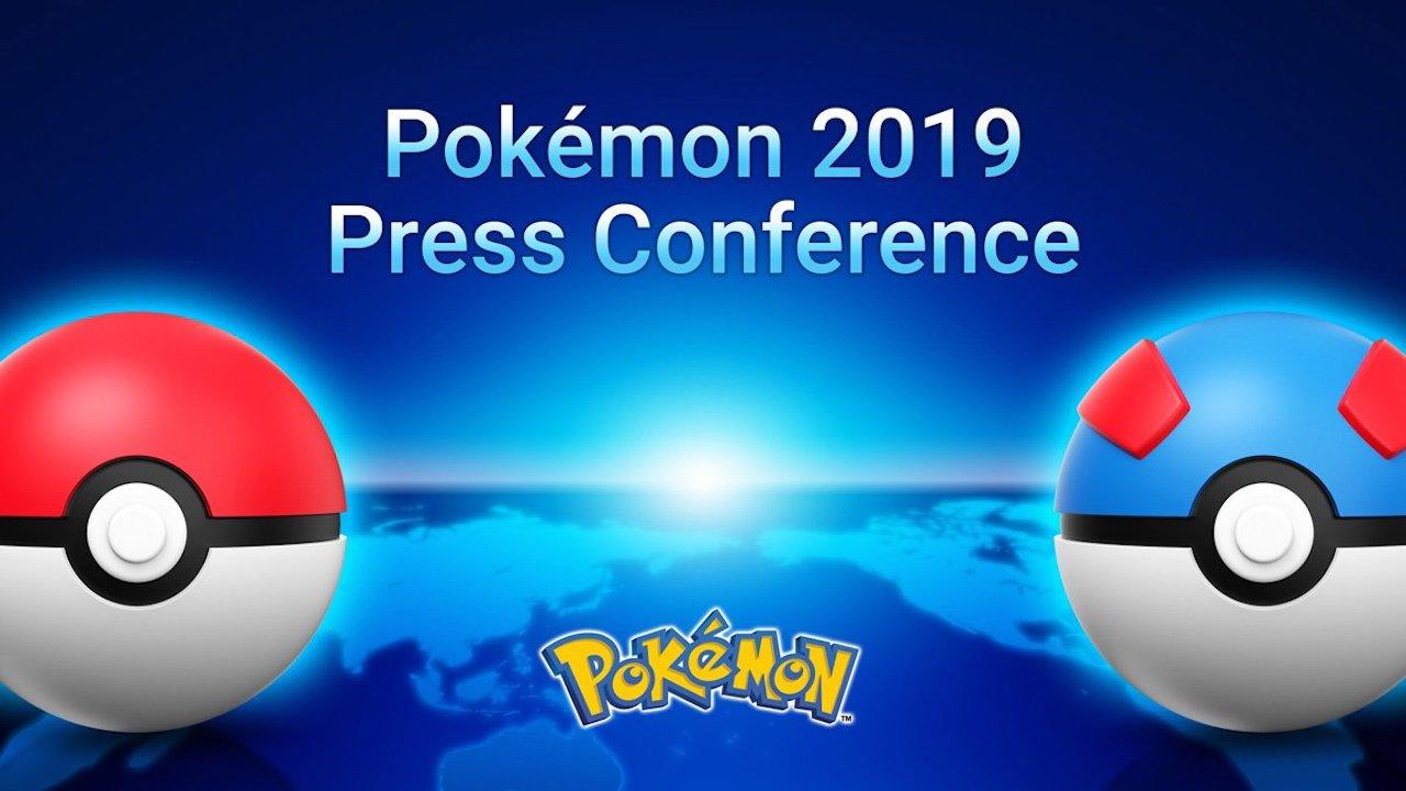 Pokémon 2019 Press Conference Logo