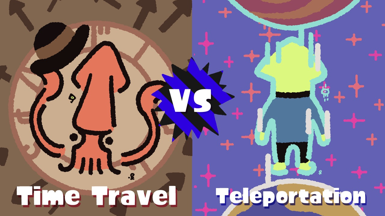 Splatoon 2 Splatfest Time Travel Teleportation Image