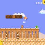 Super Mario Maker 2 Desert Screenshot