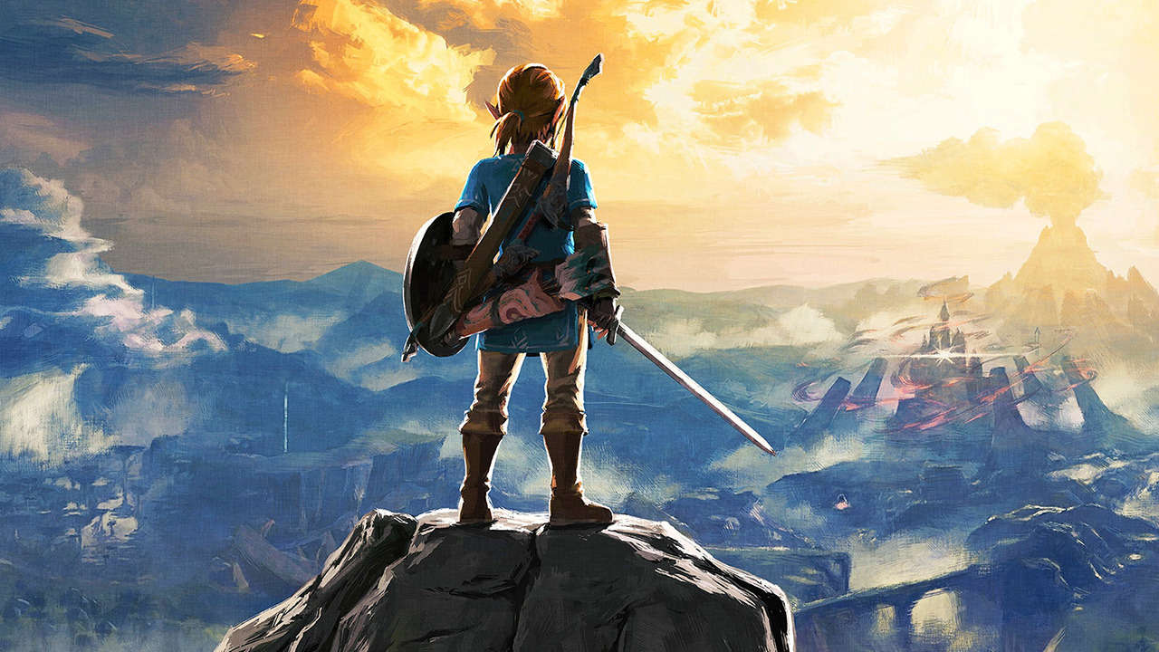 The Legend of Zelda: Breath of the Wild Key Art