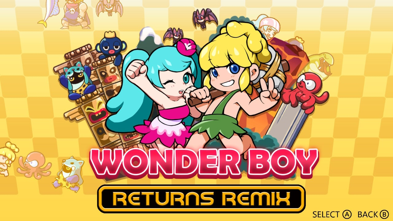 Wonder Boy Returns Remix Screenshot