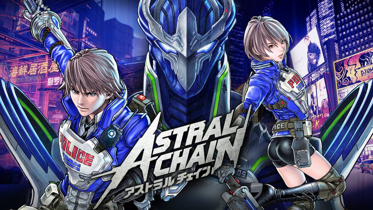 Astral Chain E3 2019 Key Art