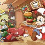 BurgerTime Party! E3 2019 Key Art