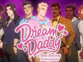 Dream Daddy: A Dad Dating Simulator Key Art