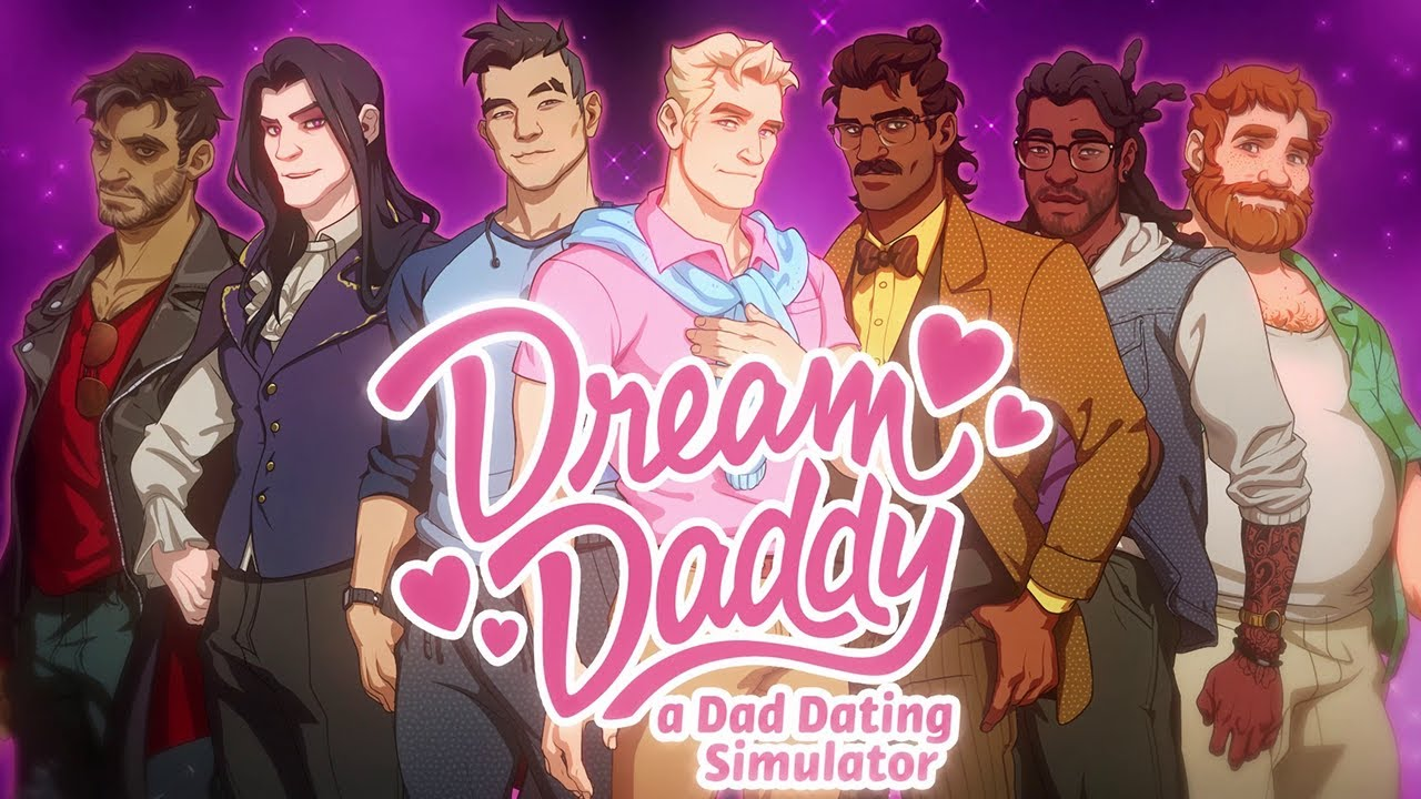 Dream Daddy: A Dad Dating Simulator Key Art