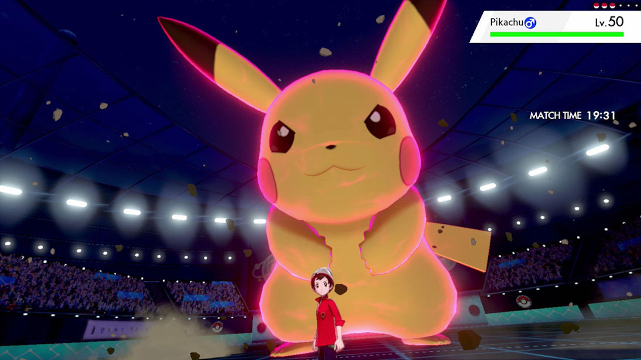 Dynamax Pokémon Sword And Shield Pikachu Screenshot