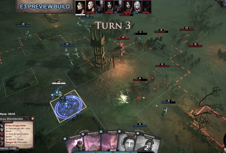 Immortal Realms: Vampire Wars E3 2019 Screenshot