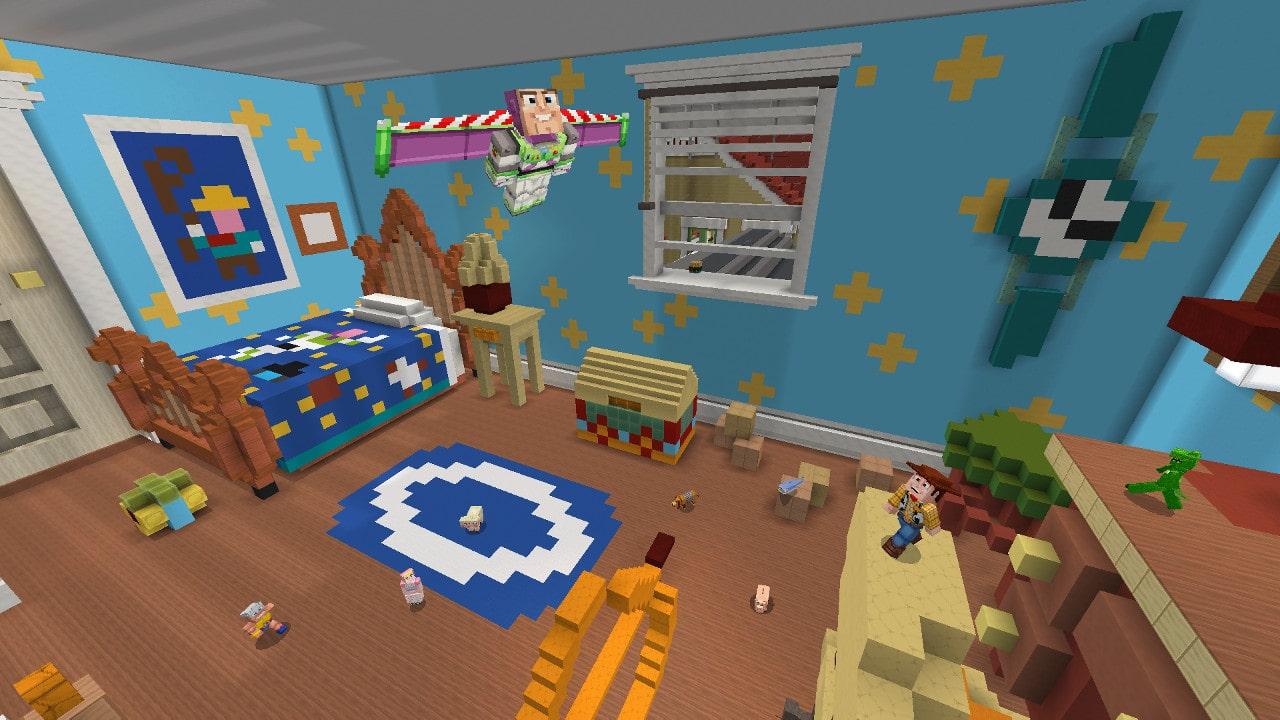 Minecraft Toy Story Mash-Up Pack Screenshot