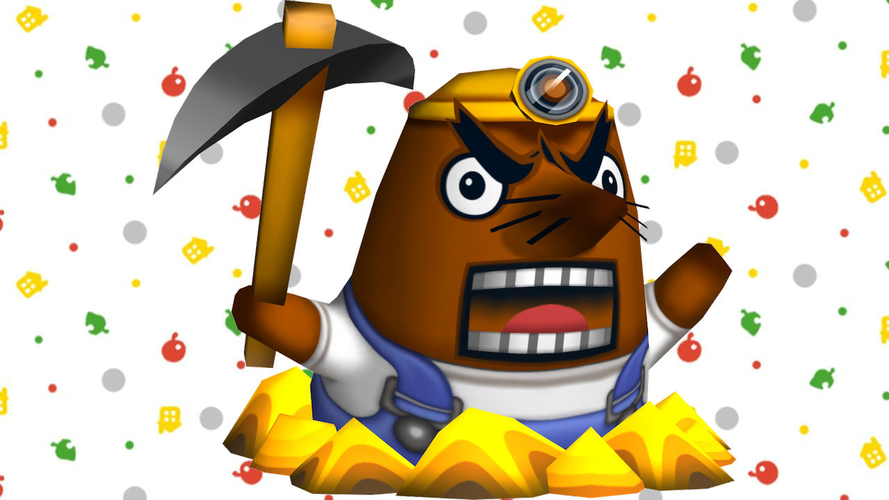 Mr. Resetti Animal Crossing Image