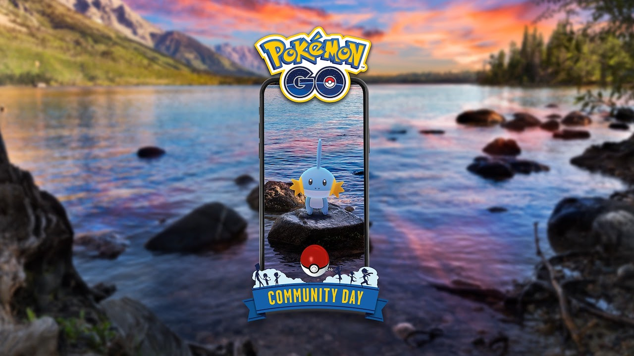 Mudkip Pokémon GO Community Day Image