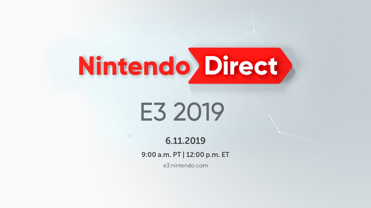 Nintendo Direct E3 2019 Logo
