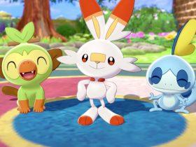 Pokémon Sword And Shield Starters Screenshot
