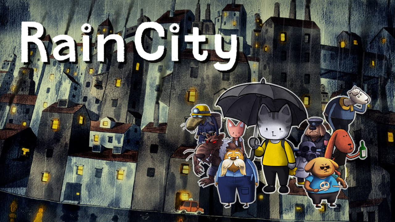 Rain City Key Art
