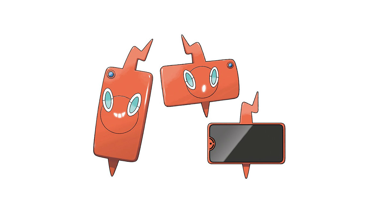 Rotom Phone Pokémon Sword And Shield Artwork