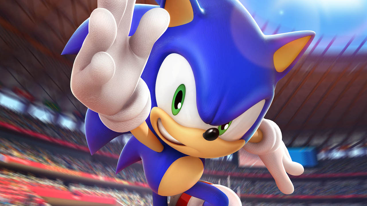 Sonic At The Olympic Games Tokyo 2020 Key Art