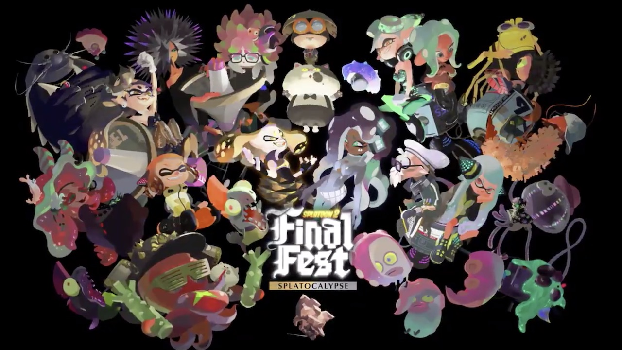 Splatoon 2 Final Fest Splatocalypse Key Art