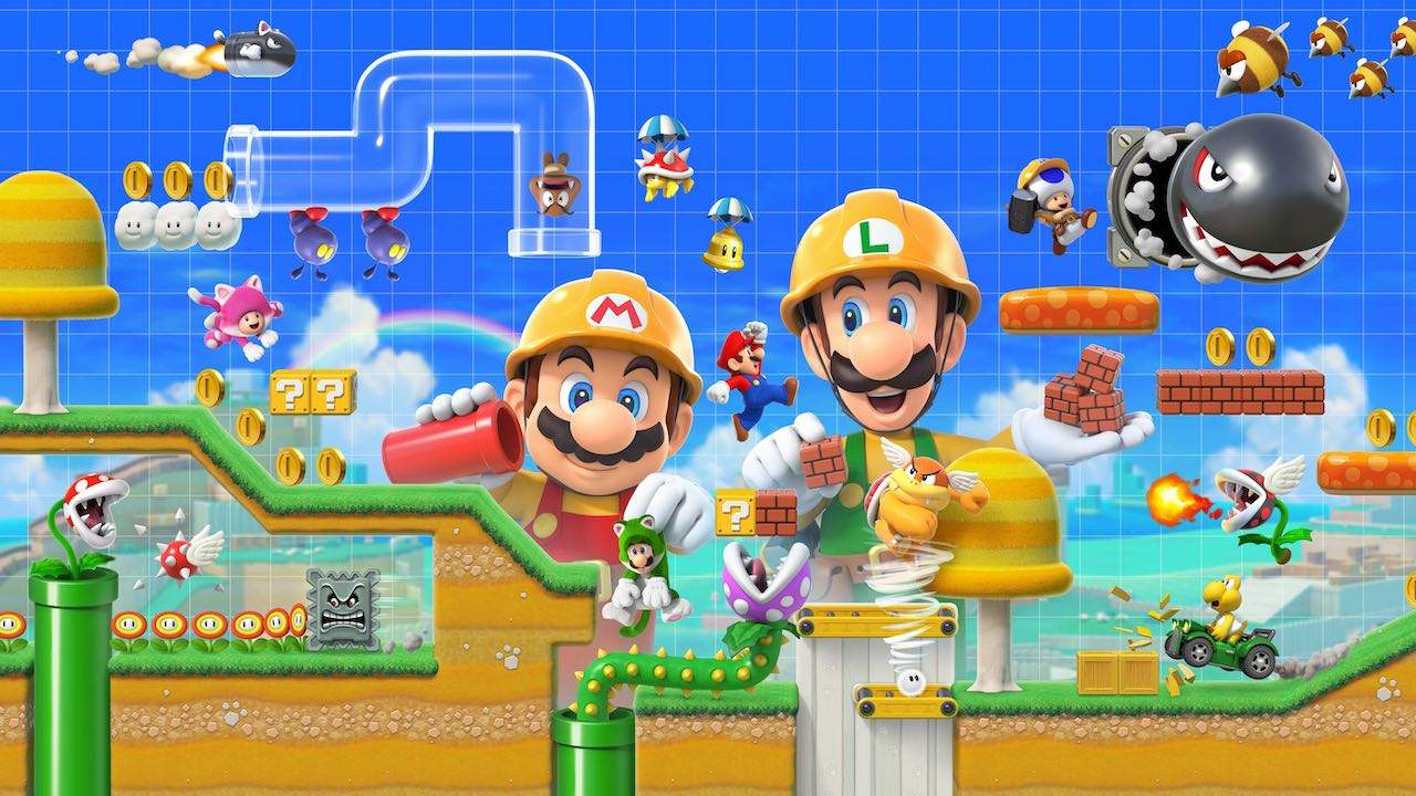 Super Mario Maker 2 Review Header