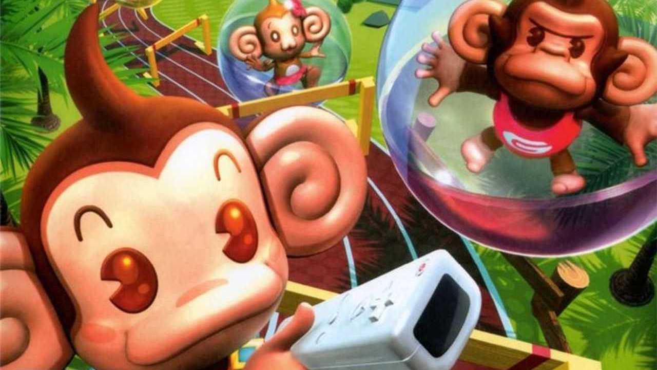 Super Monkey Ball: Banana Blitz Key Art