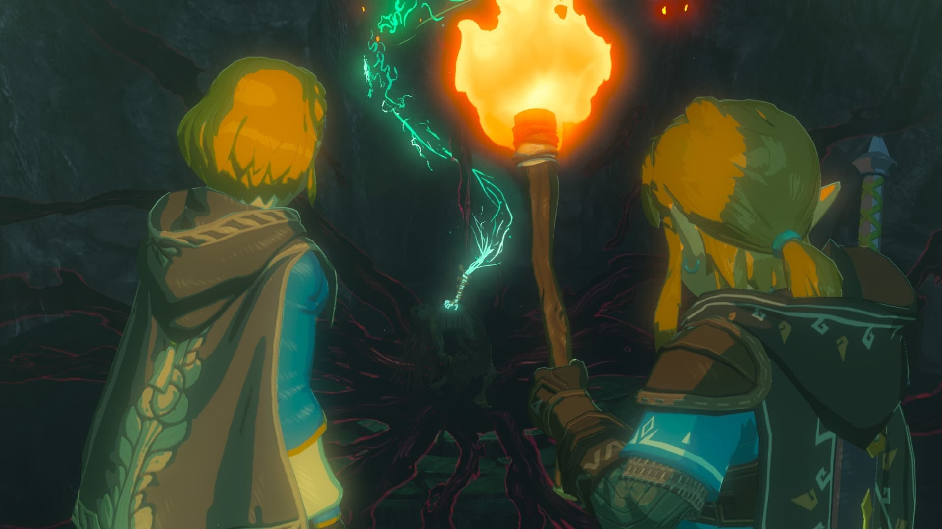The Legend of Zelda: Breath of the Wild Sequel E3 2019 Screenshot 2