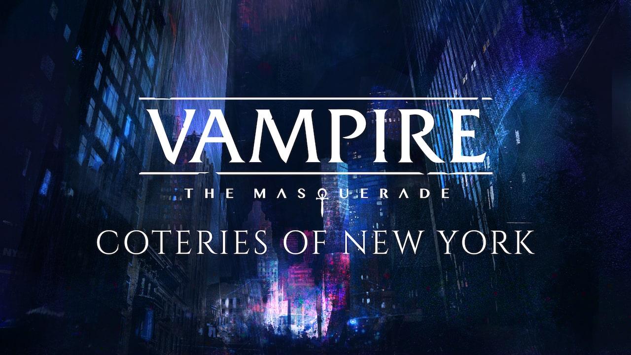 Vampire: The Masquerade - Coteries Of New York Logo