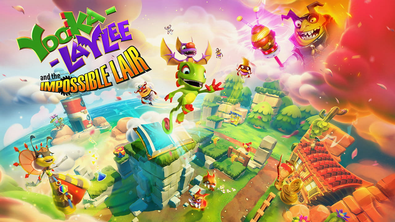 Yooka-Laylee And The Impossible Lair Key Art
