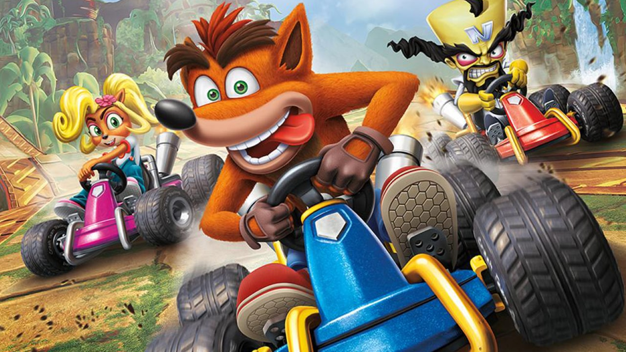 Crash Team Racing Nitro-Fueled Review Header