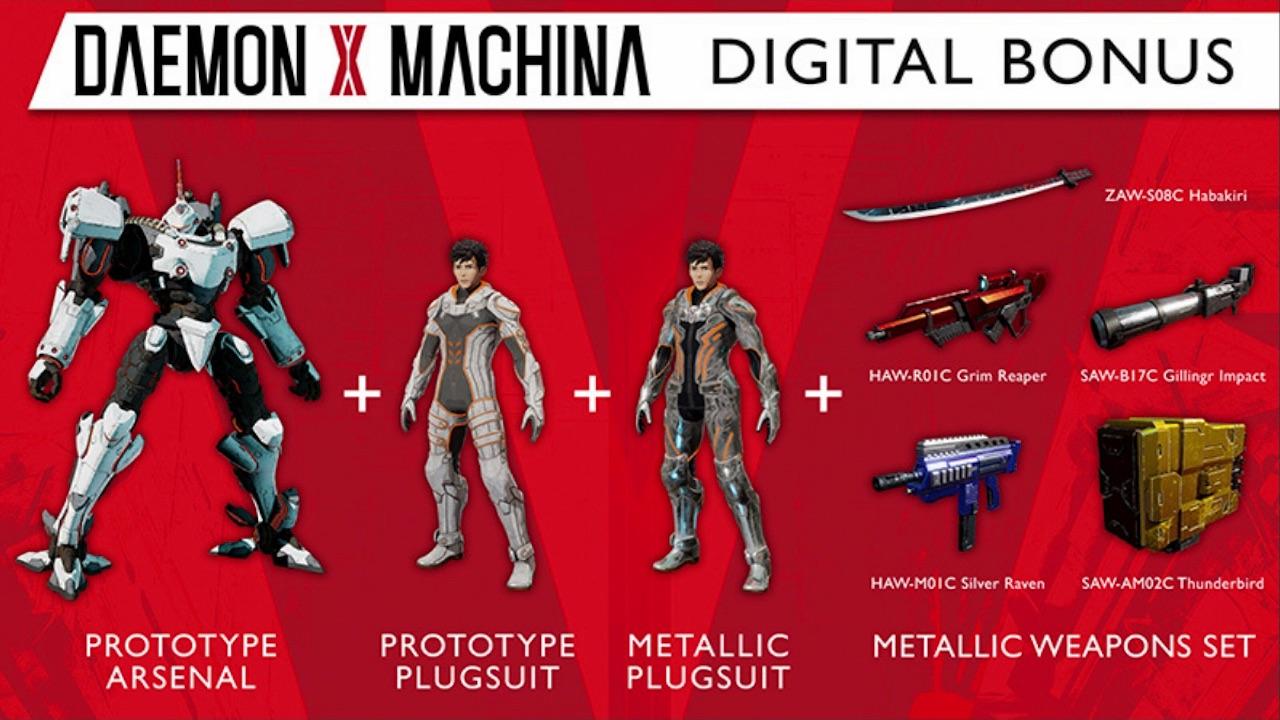 Daemon X Machina Digital Bonus Screenshot