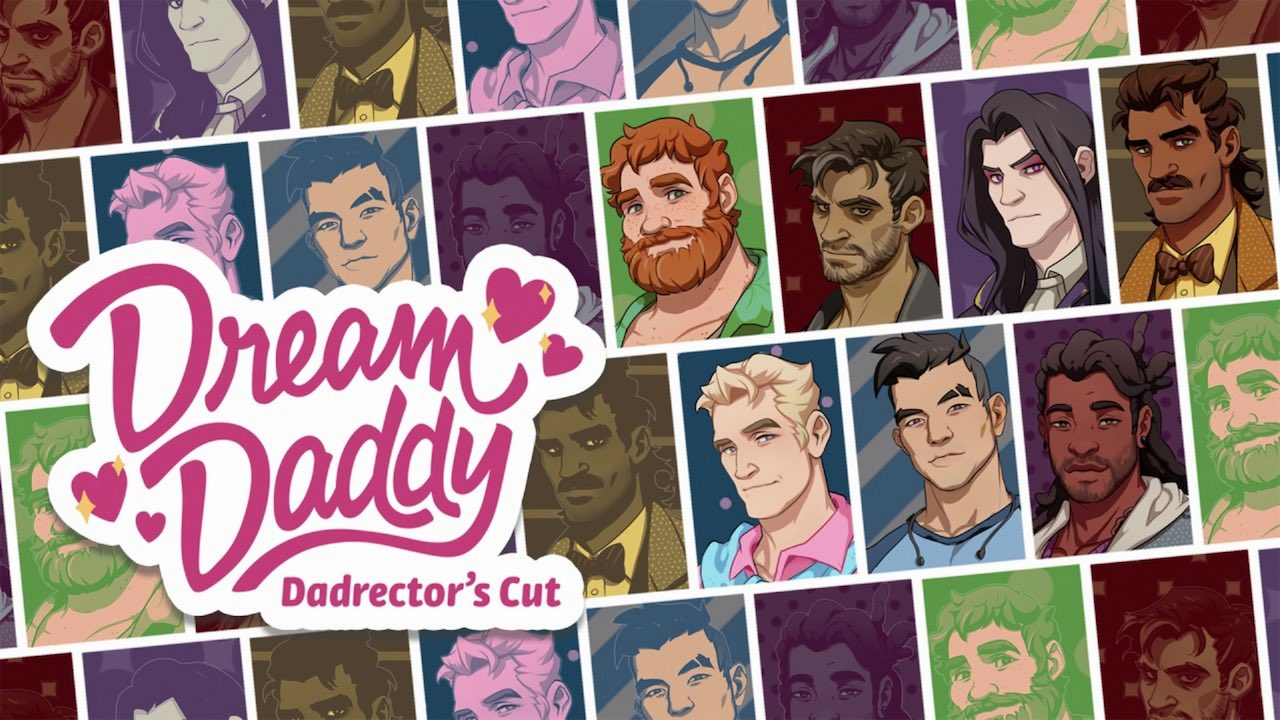 Dream Daddy: A Dad Dating Simulator Logo
